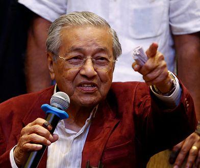 Malezyjczycy chcą odnowić azjatyckiego tygrysa. Dokonać ma tego najstarszy premier na świecie