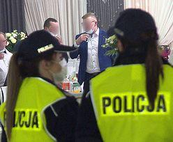 Policjanci pojechali na wesele. Ten widok ich zamurował