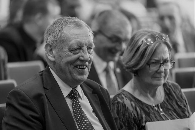 Jan Szyszko z żoną Krystyną Szyszko