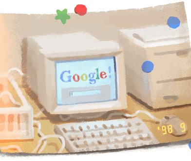 Google Doolde – 21 urodziny Google. 27 września 1998 po raz pierwszy uruchomiono amerykańską wyszukiwarkę internetową