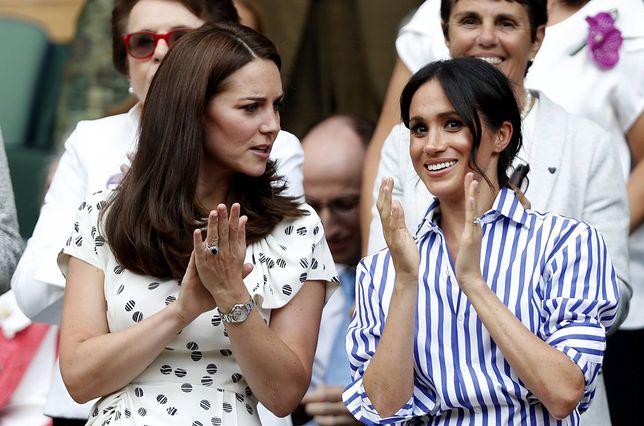 Kate Middleton miała przepraszać Meghan Markle za to, że doprowadziła ją do łez