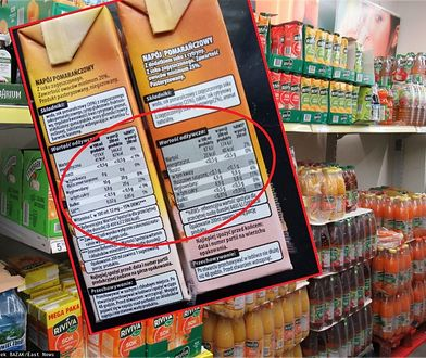 Podatek cukrowy zmienił nie tylko ceny. Wystarczy spojrzeć na składy