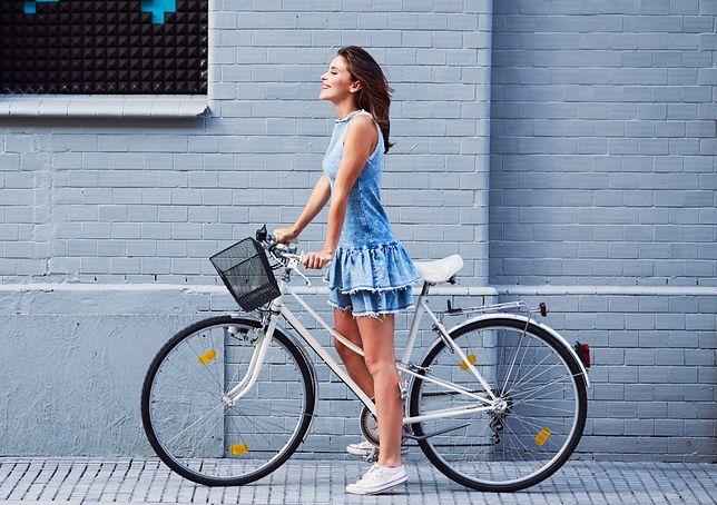 Rower to wygodny i przyjemny sposób transportu