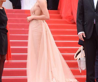 Aktorka miała swoje 30 sekund na czerwonym dywanie w Cannes