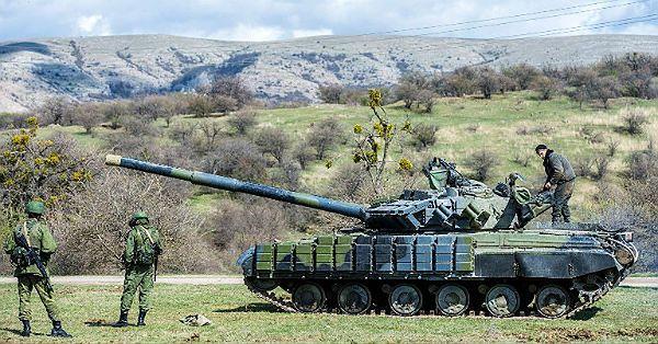 Koncentracja rosyjskich wojsk przy granicy z Ukrainą