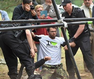 Brutalnie przerwana blokada w Czerlonce, 8 czerwca 2017 r.