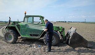 Funkcjonariusze zabrali mężczyźnie prawo jazdy