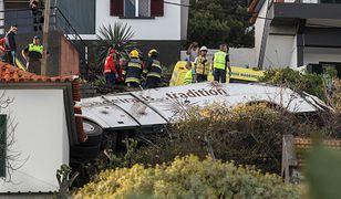 Madera - autokar spadł ze skarpy