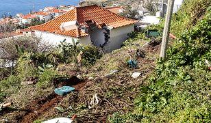 Madera: autokar spadł ze skarpy i wbił się w stojący poniżej budynek