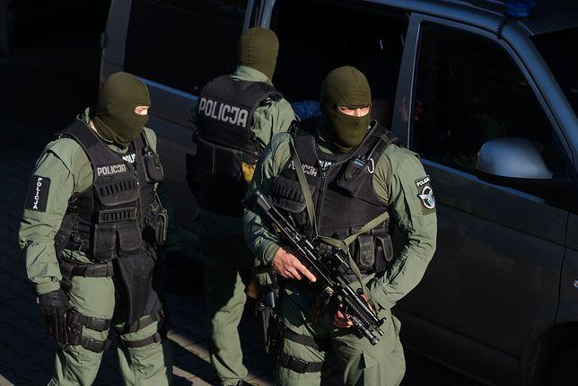 Strzelanina w Inowrocławiu. Dwóch funkcjonariuszy zostało rannych
