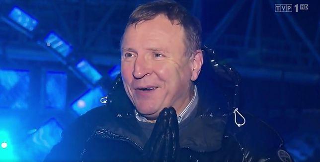 """Jacek Kurski cieszy się, że """"opatrzność czuwała"""" nad TVP."""
