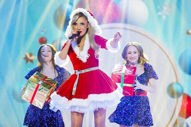 Cleo w świątecznym wydaniu szalała na scenie w TVP