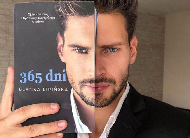 """Polski Christian Grey. To on jest na okładce """"365 dni"""" Blanki Lipińskiej"""