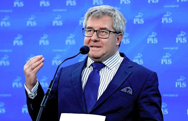 Ryszard Czarnecki skrytykował Fransa Timmermansa