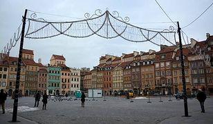 Lodowisko na Rynku Starego Miasta wystartuje z poślizgiem