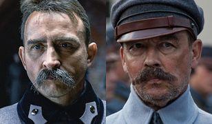 Borys Szyc i Jan Frycz jako Józef Piłsudski