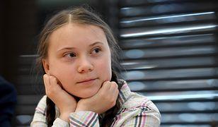 Greta Thunberg w brytyjskim parlamencie