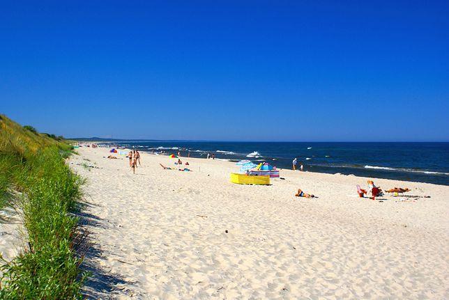 Plaże dla nudystów - Piaski