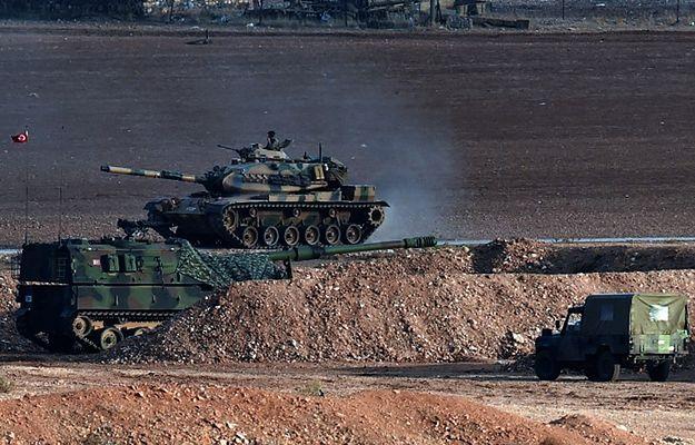 Tureckie wojska prowadzą operację przeciwko Państwu Islamskiemu i PKK (na zdj. granica z Syrią)