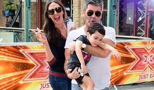 Simon Cowell z Erikiem i jego mamą, Lauren Silverman