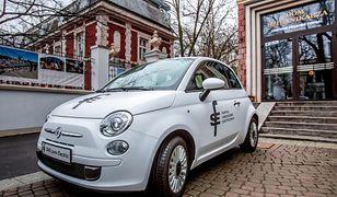 """""""Polski"""" elektryczny Fiat 500"""