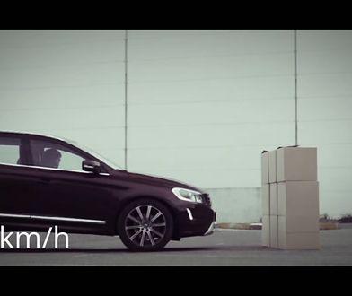 Volvo XC60 - test systemu City Safety