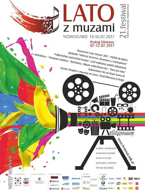 Plakat promujący festiwal