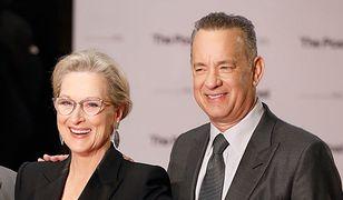 """Meryl Streep i Tom Hanks na londyńskiej premierze """"Czwartej władzy"""""""