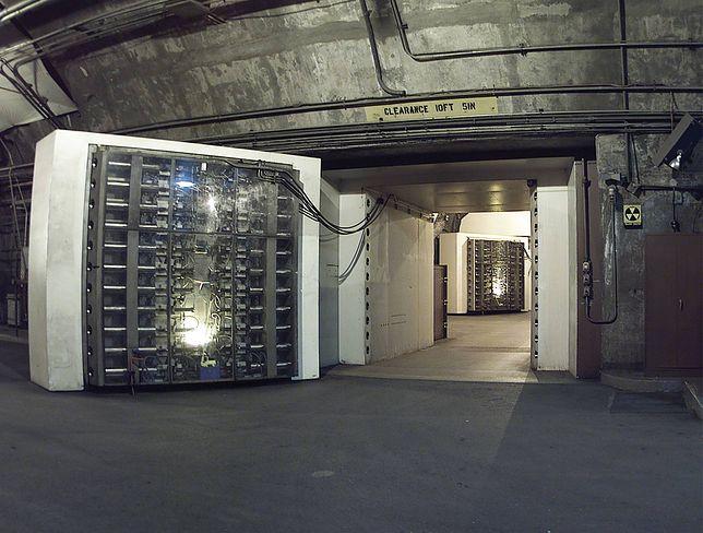 Wrota centrum dowodzenia NORAD