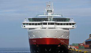 Hurtigruten pływa także do Polski