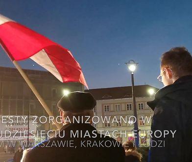 """Protest przeciwko""""Acta 2"""", czyli europejskiej dyrektywie o prawie autorskim"""
