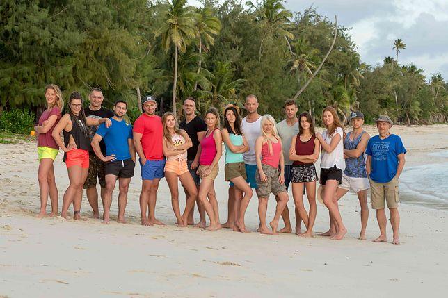 """Uczestnicy programu """"Wyspa przetrwania"""""""