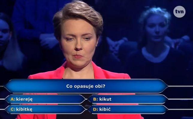 Uczestniczka po dziesięciu pytaniach jest nadal w grze