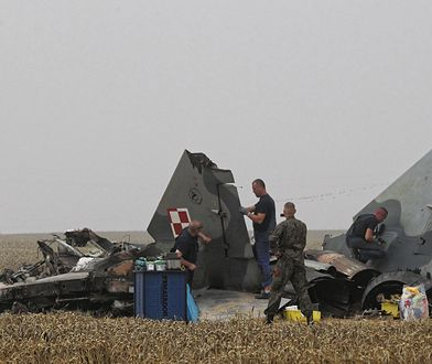 Katastrofa MIG-29 we wsi Sakówko pod Pasłękiem