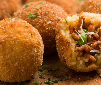 Arancini– ryżowe kulki prosto z Sycylii