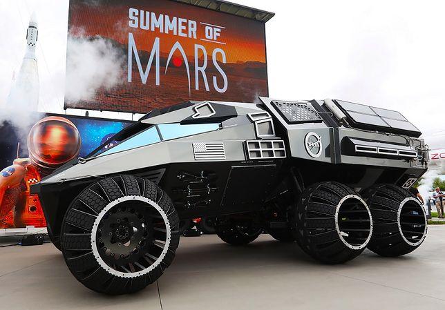 Taki pojazd mógłby trafić na Marsa. Jest niesamowity!