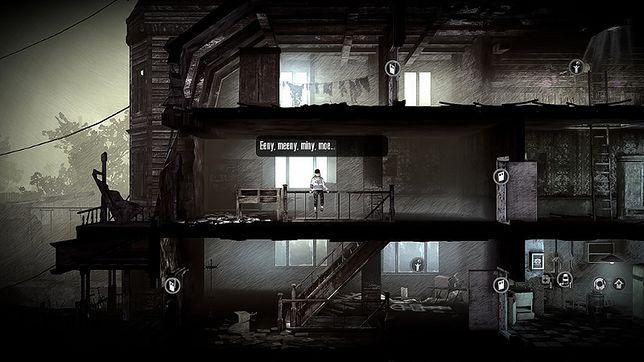 Gry survivalowe - kadr z gry This War of Mine