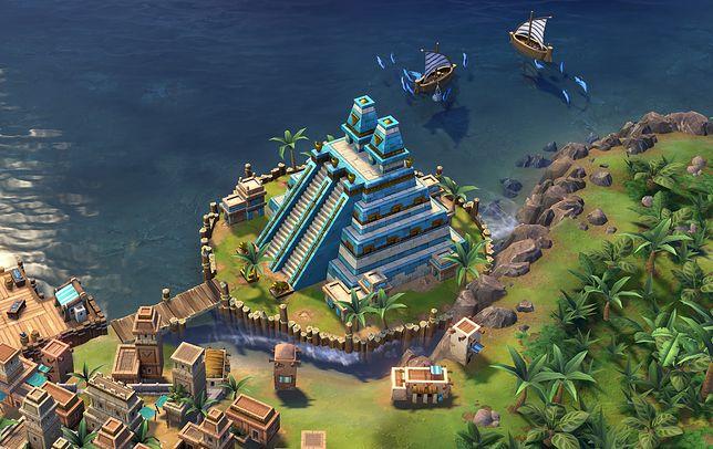 """""""Civilization VI"""" to gra od studia Firaxis Games, stanowi kolejną odsłonę znanej serii strategii 4x"""