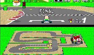 """Kadr z gry """"Mario Kart""""."""