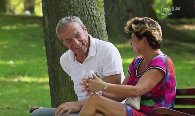 Zbyszek zabrał Janinę na sekretną randkę.