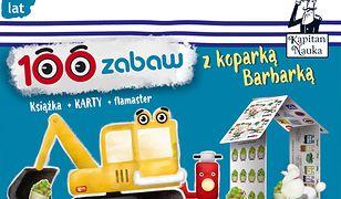 Kapitan Nauka 100 zabaw z koparką Barbarką