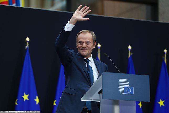 Bruksela. Przewodniczący Europejskiej Partii Ludowej Donald Tusk (zdj. arch.)