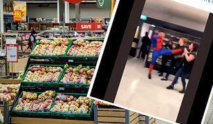 W strojach superbohaterów zaatakowali pracowników londyńskiego sklepu