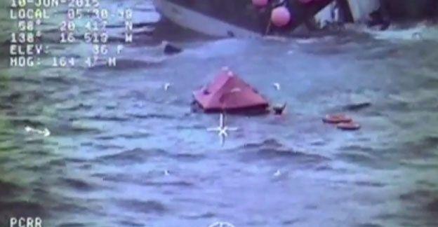 Dramatyczna akcja ratunkowa u wybrzeży Alaski