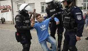 Płock. Marsz Równości i interwencja policji