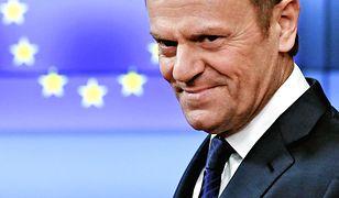 Szef Rady Europejskiej otrzymał statuetkę za promowanie Polski w Europie