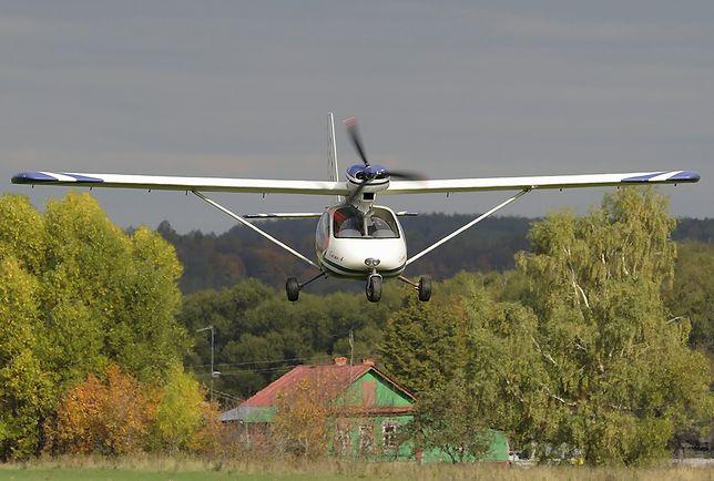 Lekki samolot Sigma roztrzaskał się pod Moskwą