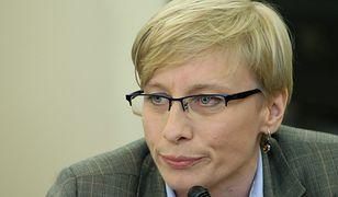 Beata Gosiewska nie znalazła miejsca w czołówkach list PiS