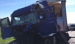 Wypadek na S8. Jedna osoba ranna