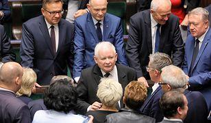 Jarosław Kaczyński w gronie współpracowników